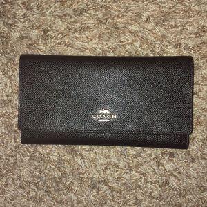 Coach black classy wallet new